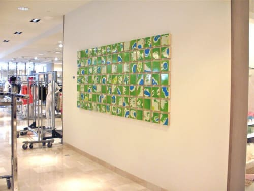 Art Curation by Chandra Cerrito / Art Advisors seen at Neiman Marcus, Walnut Creek - Art Curation