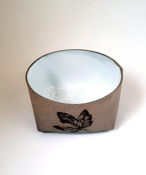 Tableware by ShellyClayspot seen at Creator's Studio, Kiryat Gat - Ceramic Bread Baker - Pottery Bowl