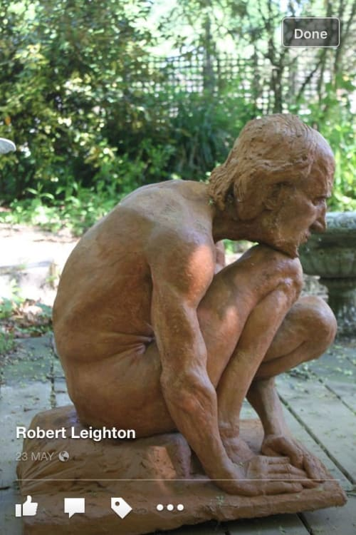 Sculptures by Rob Leighton Sculptor seen at Chilstone, Langton Green - David