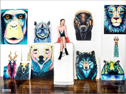 Ekaterina Sky Art - Murals and Art