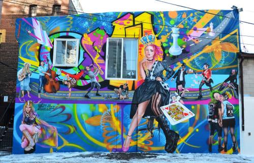 Christiano De Arte - Murals and Street Murals