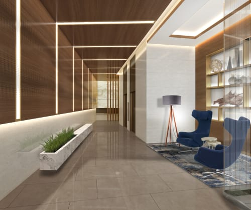 Interior Design by Lemay + Escobar seen at Westin Hotel Flushing, Queens - Interior Design