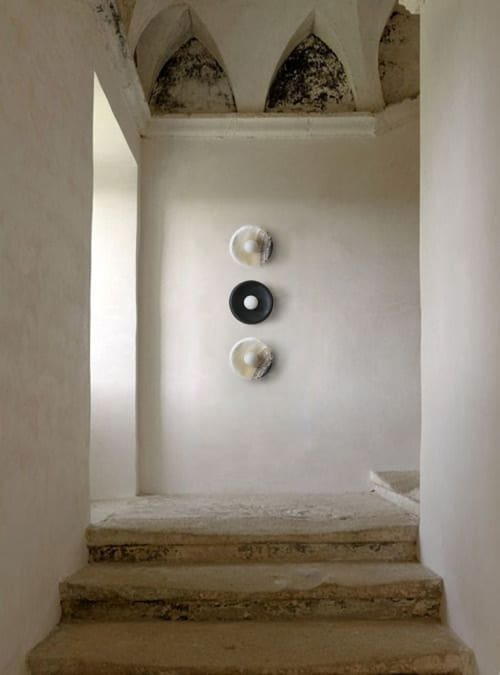 Sconces by l'aviva home seen at Private Residence, Los Angeles - Piedra Collection Sconces