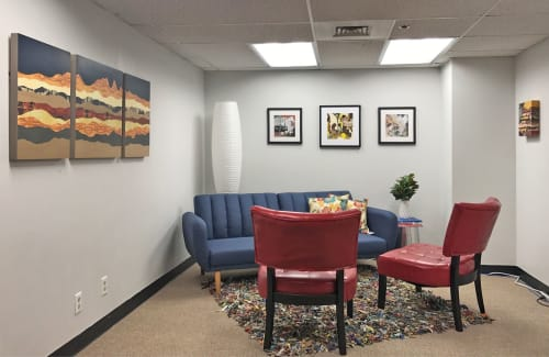 Art & Wall Decor by Lorelle Rau Studios seen at Boise, Boise - Art Installation in Office Environment