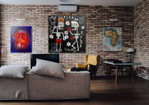 Paintings by Soren Grau seen at Private Residence, New York - -