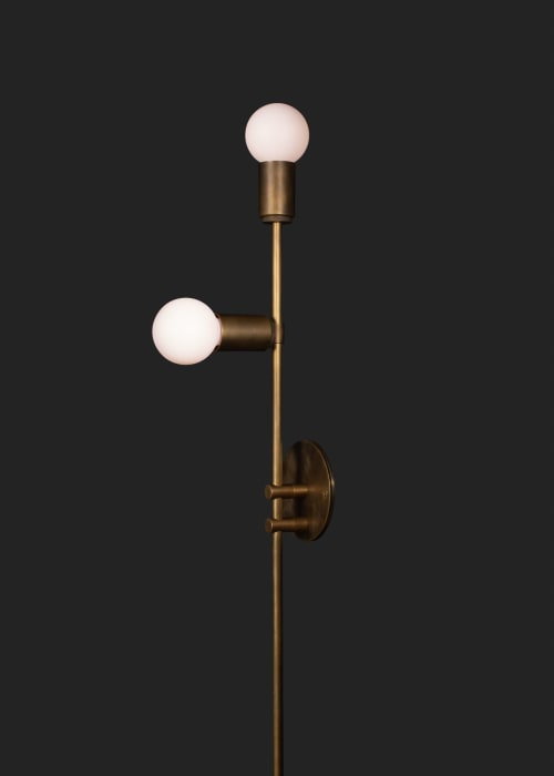 Sconces by Southern Lights Electric seen at Private Residence, Nashville - 3209 rail sconce