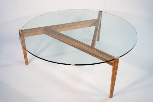 Tables by Designed with Purpose seen at Private Residence, Baltimore - Trinity Coffee Table