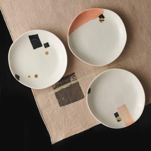 Ceramic Plates by Boya Porcelain seen at Creator's Studio, Beograd - Heiko Dessert Plate