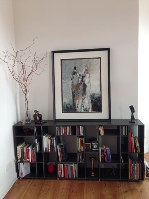 Paintings by Julie Schumer at Private Residence, Berlin - Two Figure Study No. 11