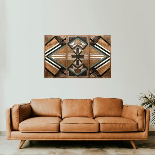 Wall Hangings by Skal Collective seen at Creator's Studio, İzmir - ''Lycia'' Wood Wall Art