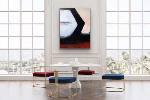 Paintings by Melanie Biehle seen at Everett, Everett - Surrender
