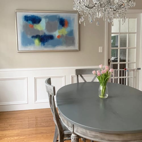 Paintings by Lindsay von Kamecke Ghata seen at Private Residence, Atlanta - Abstract Painting