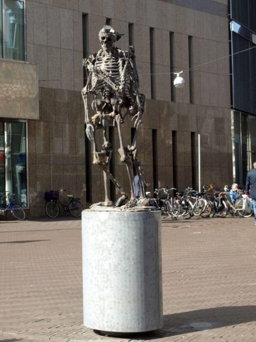 Art & Wall Decor by Folkert de Jong seen at Koningsplein, Amsterdam - Dutch Mechanisms