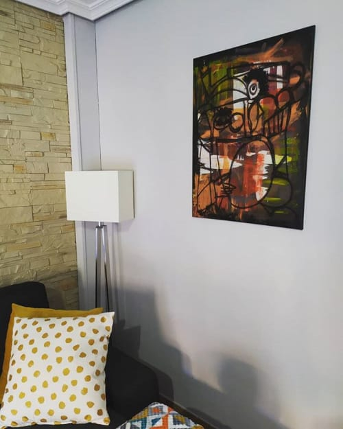Paintings by Arte Entre Latas seen at Private Residence, Brunete - Buh!