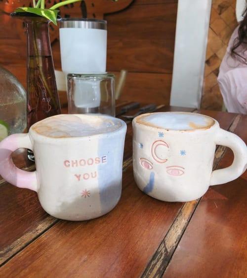Cups by Cerámica Libertad seen at Holistika Tulum, Tulum - Ceramic Cup