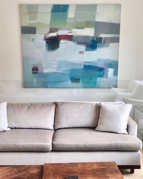Paintings by Sharon Paster seen at Private Residence, San Francisco - Sunlight
