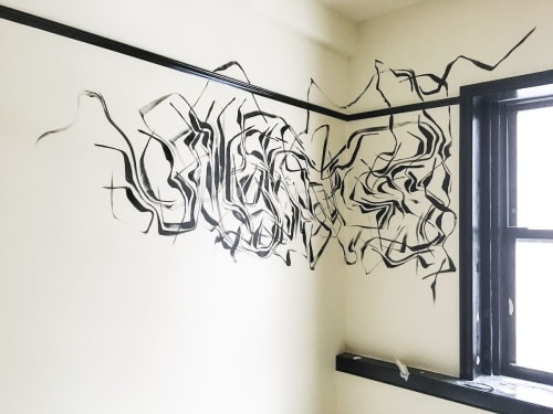 Murals by Rowan Willigan seen at Freehand New York, New York - Freehand Hotel Guest Room Murals