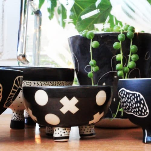 Vases & Vessels by Lucy Ceramics seen at Little Leaf Co, Myaree - Pots & Planters