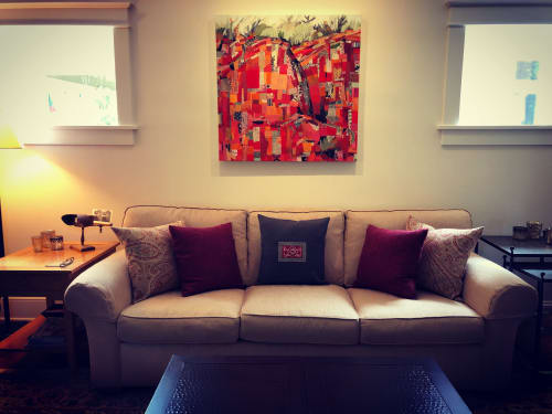 Paintings by Roxanne Rossi seen at Private Residence, Denver - Rojas