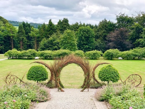 Newgrange Willow Design - Public Sculptures and Architecture