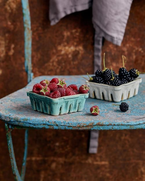 Tableware by Cara Janelle seen at Barcelona, Barcelona - Berry Punnets Ceramics