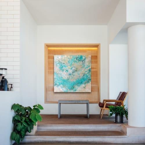 Wall Treatments by Chieko Shimizu Fujioka seen at Creator's Studio, Santa Clara - S O A K