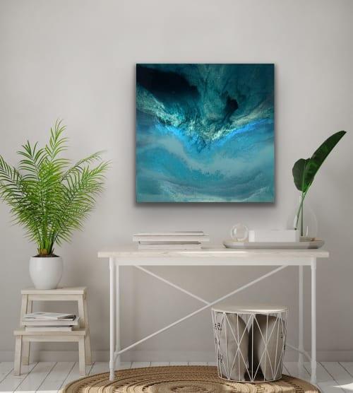 Paintings by Melissa Renee fieryfordeepblue  Art & Design seen at Private Residence, Castelfranco Veneto - I Dream of Fiji