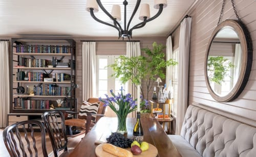 Interior Design by M. James Design Group seen at Private Residence - 1930's Carriage House | The Garçonniére