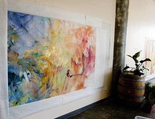 Paintings by Peggy Gyulai seen at Majorca - Andalusia