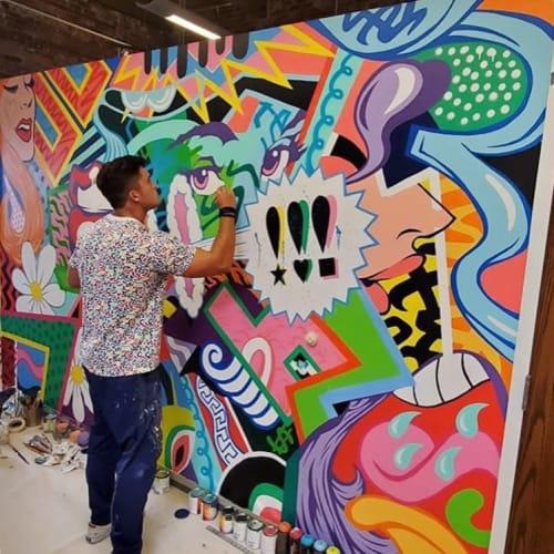 Jackson Wrede - Art and Street Murals