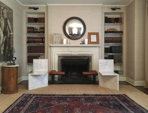 Chairs by Claste seen at Private Residence, Westmount, QC, Westmount - And Here I Sit