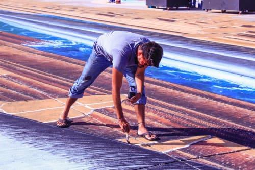 Abraham Burciaga - Paintings and Street Murals