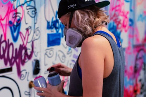 Indoor Mural   Murals by Davia King   Shockboxx in Hermosa Beach