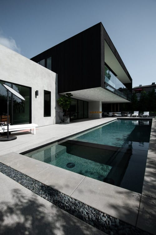 Architecture by The Brown Studio seen at Private Residence, Encinitas - Lot 3
