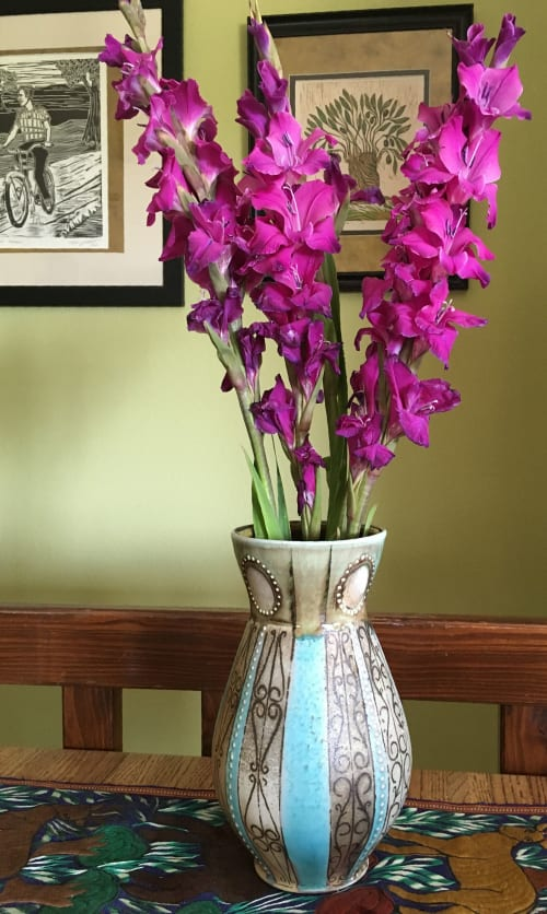 Vases & Vessels by Elemental Artworks - handmade pottery by Rena Hamilton seen at Private Residence, Baltimore - Vase
