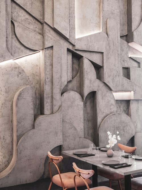 Wall Treatments by Asthetíque seen at Polet, Moskva - Wall Treatments