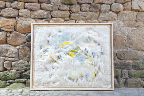 Art & Wall Decor by Linden Eller seen at Langogne, Langogne - Wool Collage