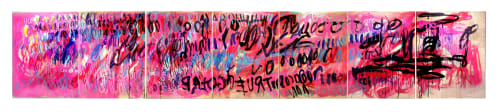 Paintings by Ewa Budka seen at Christian Siriano The Curated NYC, New York - Everything