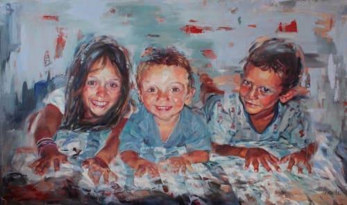 Daniella Queirolo Art - Paintings and Art