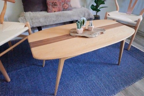 Tables by Animas Craft Woodworks seen at Private Residence, Durango - Mountain Modern Coffee Table