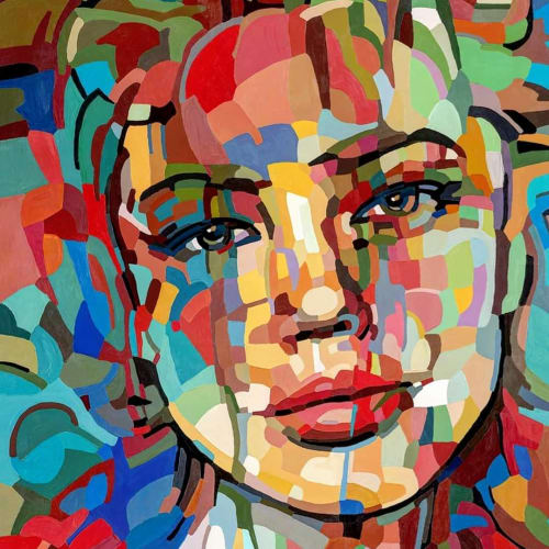 Paintings by Noemi Safir Artist - The power of your emotions