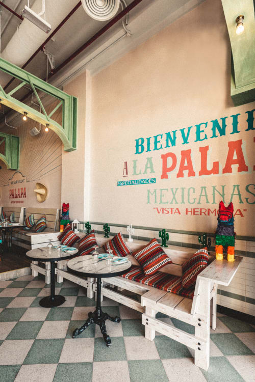Interior Design by Aces of Space seen at Palapa Restaurant, Dubai - Palapa