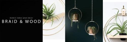 Braid & Wood Design Studio - Vases & Vessels and Floral & Garden