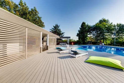 Architecture by Déco seen at Private Residence, Palestrina - UltraShield® by Déco for the outdoor of an elegant villa