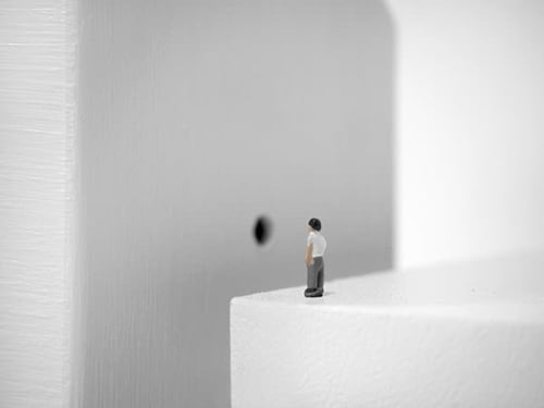 Sculptures by UUendy Lau seen at House by Kubrick - Whiteness