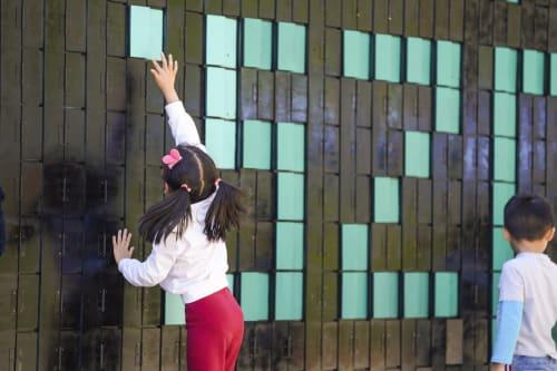 Public Sculptures by Thomas Dambo seen at Beijing, Beijing - Happy Wall Beijing