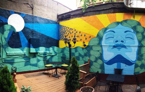 Miguel Ayuso (The Mexiyorker) - Murals and Art