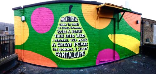 Angry Dan - Street Murals and Murals