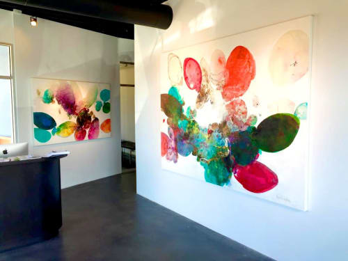 Paintings by Meredith Pardue seen at Laura Rathe Fine Art, Dallas - Veritas Solo Exhibition 2015