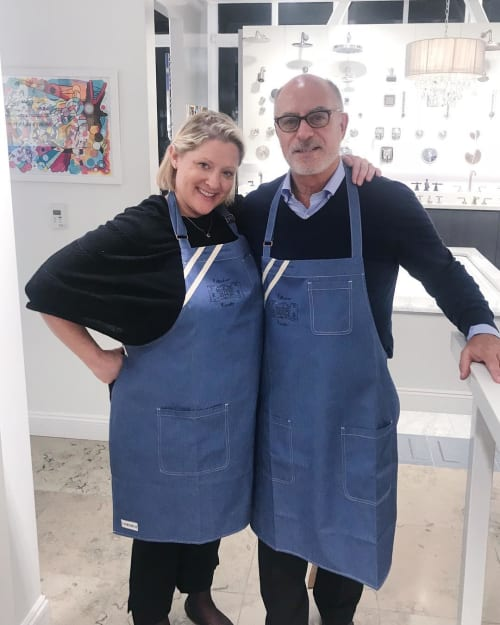 Aprons by BoWorkwear seen at Gary Paul Design, New York - GPD Aprons